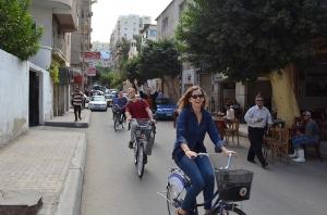Fahrradfahren in Ägypten